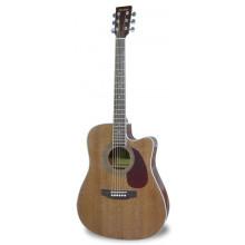 Электроакустическая гитара Maxtone MWG440E
