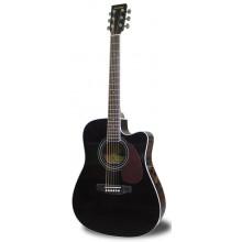 Электроакустическая гитара Maxtone MWG440EG