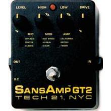 Гитарная педаль Tech21 SansAmp GT2