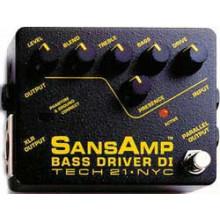 Гитарная педаль Tech21 SansAmp Bass Driver DI