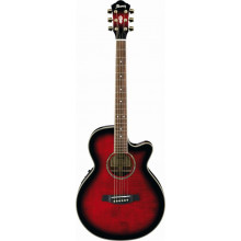 Электроакустическая гитара Ibanez AEG8E TRS