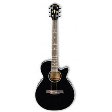 Электроакустическая гитара Ibanez AEG8E BK