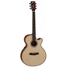 Электроакустическая гитара Cort AS-S4 Nat (w/bag)