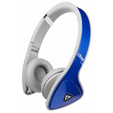 Наушники Monster DNA Neon On-Ear Headphones (Cobalt Blue Over Light Grey)