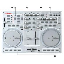 MIDI-интерфейc для диджеинга Vestax VCI100