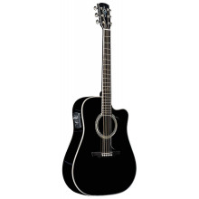 Электроакустическая гитара Alvarez AD60SCBK