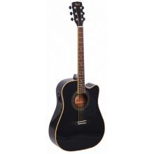 Электроакустическая гитара Cort AD880CE BK