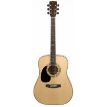 Левосторонняя электроакустическая гитара Cort AD880CE LH NAT