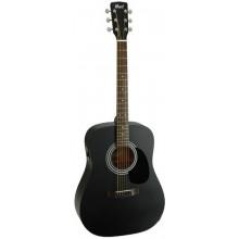 Электроакустическая гитара Cort AF510E OPB
