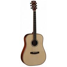 Акустическая гитара Cort AS-E5 Nat w/case