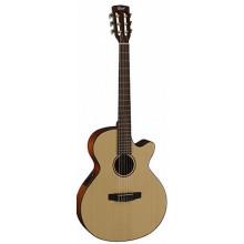 Классическая гитара со звукоснимателем Cort CEC3 NS