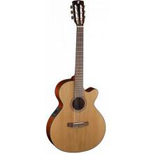 Классическая гитара со звукоснимателем Cort CEC5 NAT