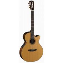 Классическая гитара со звукоснимателем Cort CEC7 NAT