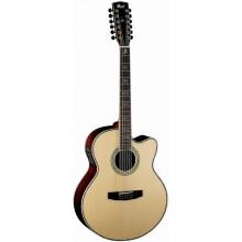Электроакустическая гитара Cort CJ10X-12 Nat