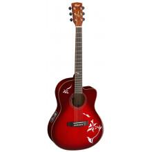 Электроакустическая гитара Cort Jade6 TWB