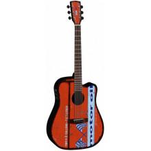 Электроакустическая гитара Cort Motor Oil 2 BKS