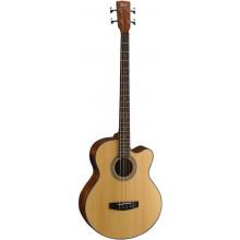 Акустическая бас-гитара Cort SJB5F NS w/bag