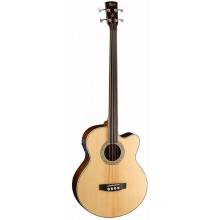 Акустическая бас-гитара Cort SJB6FX FL NAT
