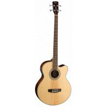 Акустическая бас-гитара Cort SJB6FX NAT w/bag