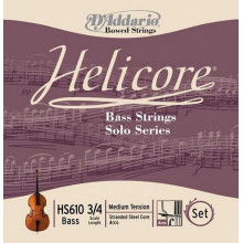 Струны для контрабаса D`addario HS610 3/4M