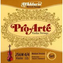 Струны для скрипки D`addario J56W 4/4M