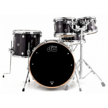 Ударная установка DW Performance Series 5-Piece Shell Pack Steel Snare (Ebony Stain)