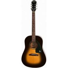 Акустическая гитара Epiphone AJ-100 VINT. SUNBURST CH HDWE