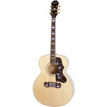 Электроакустическая гитара Epiphone EJ-200CE NAT GH