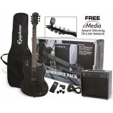 Гитарный набор Epiphone Goth SG Special Performance Pack PB