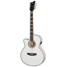 Левосторонняя электроакустическая гитара ESP AC10E LH PW