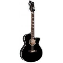 Электроакустическая гитара ESP LTD AC10E-12 BLK