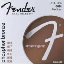 Струны для акустической гитары Fender 60M