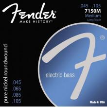 Струны для бас-гитары Fender 7150M