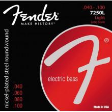 Струны для бас-гитары Fender 7250L