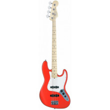 Бас-гитара Fender American Jazz Bass Sunset Orange Transparent ASH