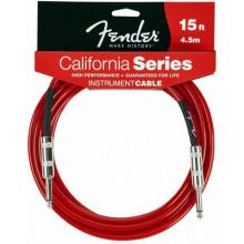 Инструментальный кабель Fender California Instrument Cable 15' CAR