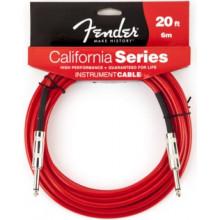 Инструментальный кабель Fender California Instrument Cable 20' CAR