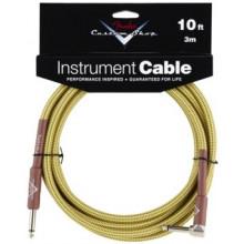 Инструментальный кабель Fender Custom Shop Cable 10' Angled TW
