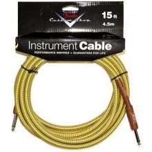 Инструментальный кабель Fender Custom Shop Cable 15' Tweed