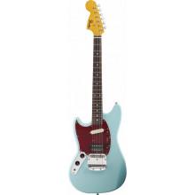 Левосторонняя электрогитара Fender Kurt Cobain Mustang SBl