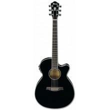 Электроакустическая гитара Ibanez AEG10II BK