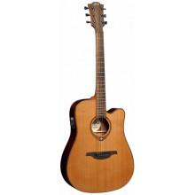 Электроакустическая гитара Lag Tramontane T-100DCE