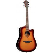Электроакустическая гитара Lag Tramontane T-100DCE BRS