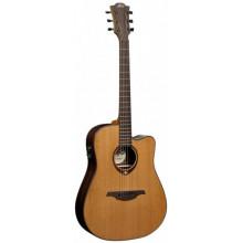 Электроакустическая гитара Lag Tramontane T-300DCE