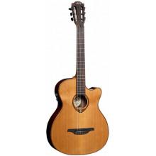 Классическая гитара с пьезозвукоснимателем Lag Tramontane TN-100ACE