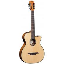 Классическая гитара с пьезозвукоснимателем Lag Tramontane TN-66ACE