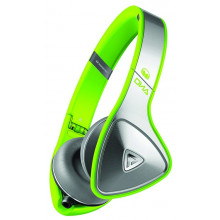 Наушники Monster DNA Neon On-Ear Headphones (Silver on Neon Green)
