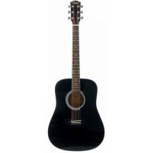 Акустическая гитара Squier SA-105 Bk