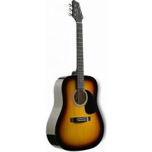 Акустическая гитара Stagg SW201 SB