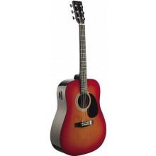 Электроакустическая гитара Stagg SW201-VT CS